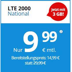 Deutschlandsim LTE 2000 national
