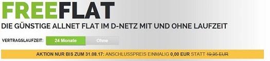 Freenetmobile Anschlusspreisbefreiung