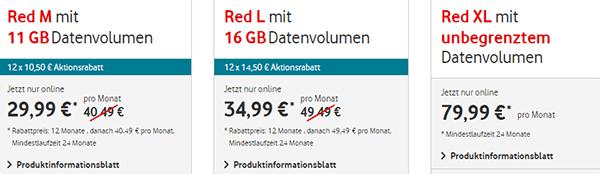 Vodafone Red L